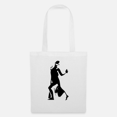 Hand Cart dance hands and cart - Tote Bag