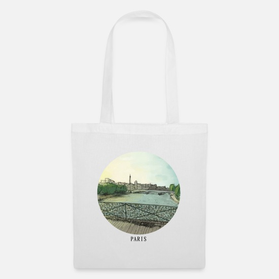 State Capital Bags & Backpacks - Sketch Paris - Tote Bag white