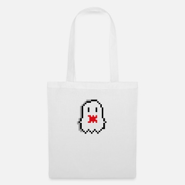 Ghost Pixel Ghost Pixel Art - Tote Bag