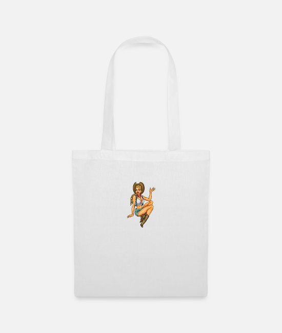 Pinup Bags & Backpacks - Pinup - Tote Bag white