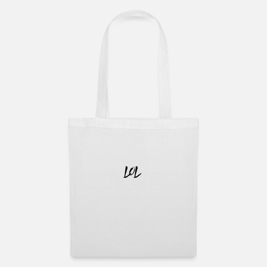 Birthday Bags & Backpacks - LOL - Tote Bag white