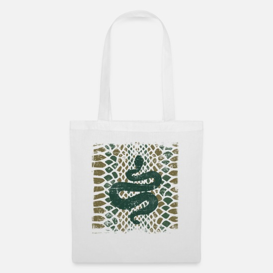 Rattlesnake Bags & Backpacks - Snake Pattern Vintage Corn Snake Animal Gift - Tote Bag white