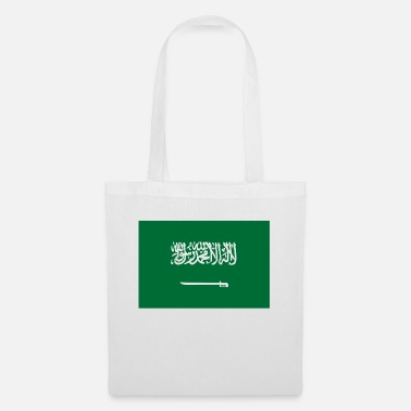 Middle East National flag of Saudi Arabia - Tote Bag
