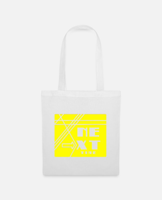 Training Bags & Backpacks - next time - Tote Bag white