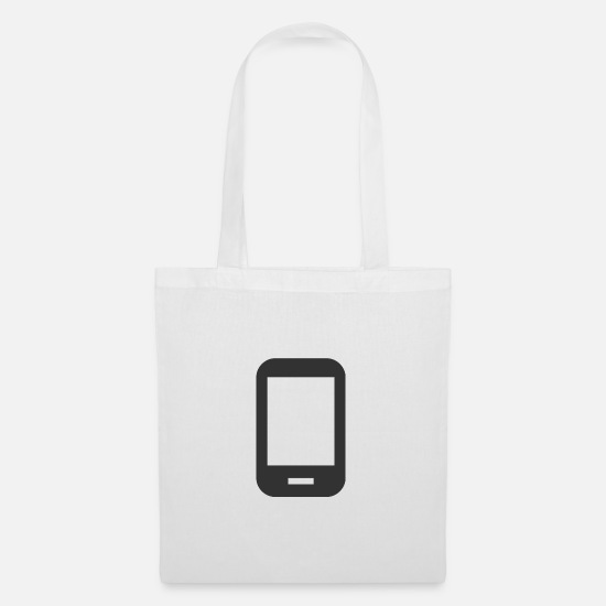 Gift Idea Bags & Backpacks - Android | Black | gift - Tote Bag white