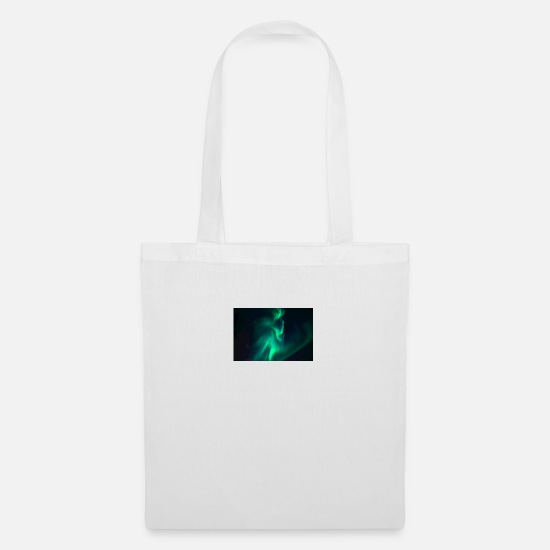 Northern Lights Bags & Backpacks - northern lights, lights, stars sky - Tote Bag white