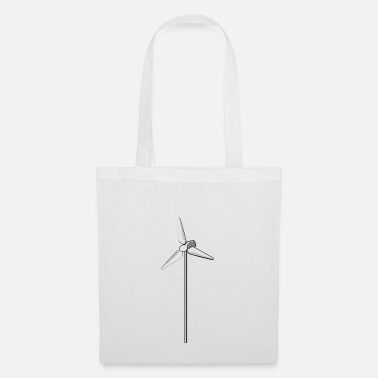 Wind windmill windmill wind turbine windrad44 - Tote Bag