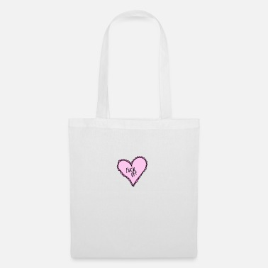 Pink Pink Heart Fuck Off - Tote Bag