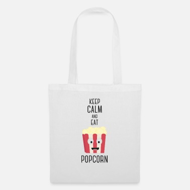 Essen Popcorn food S6pky design - Tote Bag