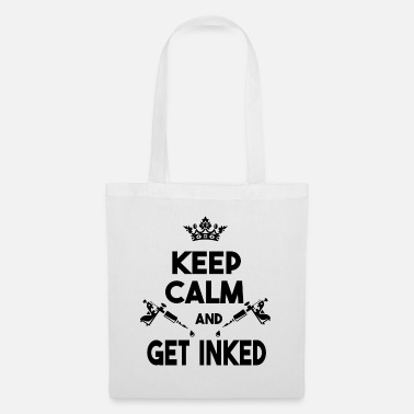 Pierce Keep Calm and Get Inked - Tote Bag