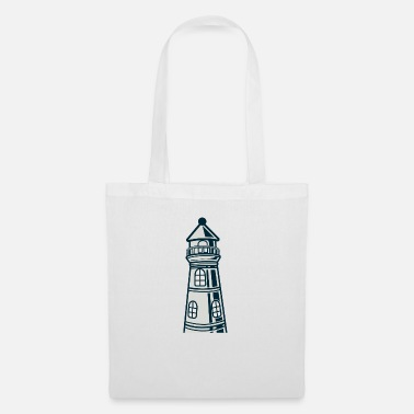 Crook Lighthouse crooked - Tote Bag