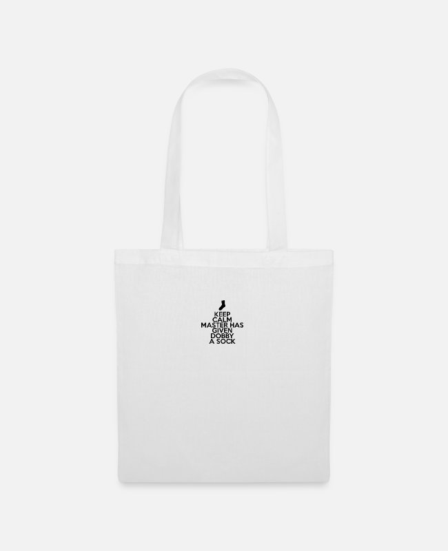 Keep Calm Bags & Backpacks - Harry Potterr Dobby - Tote Bag white
