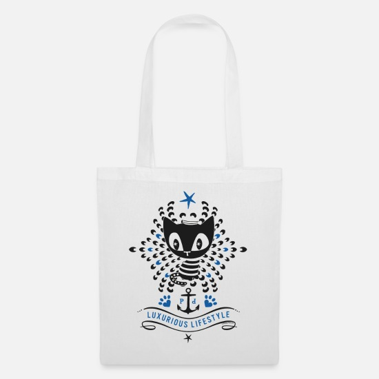 Officialbrands Bags & Backpacks - Pussy Deluxe Luxurious Lifestyle - Tote Bag white
