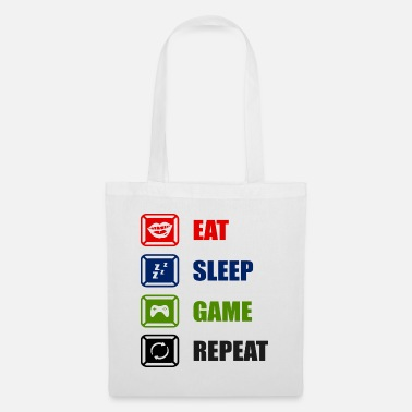 Gaming Eat Sleep Game Repeat - Tote Bag