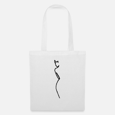 Design silhouette - Tote Bag