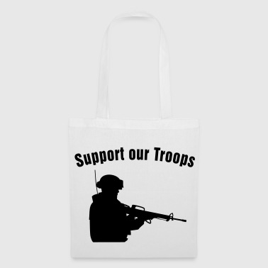 Support our Troops / soldier - Stoffveske