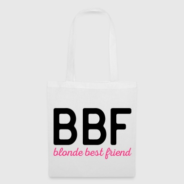 Blonde Best Friend Funny Quote - Tote Bag