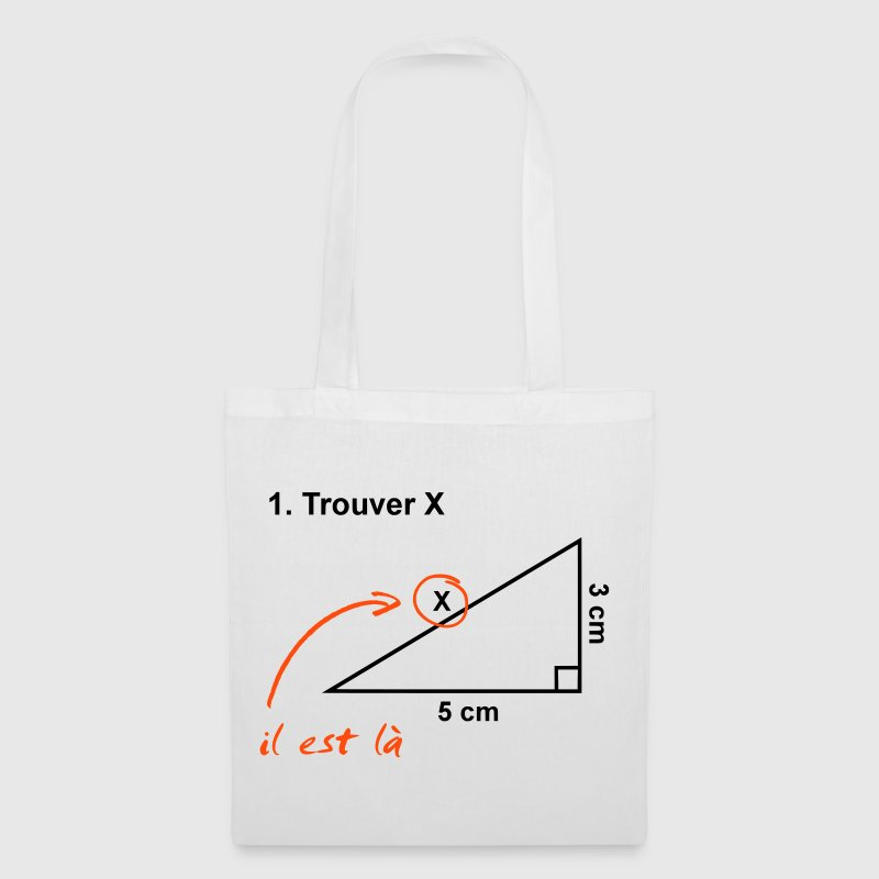 trouver x - Tote Bag