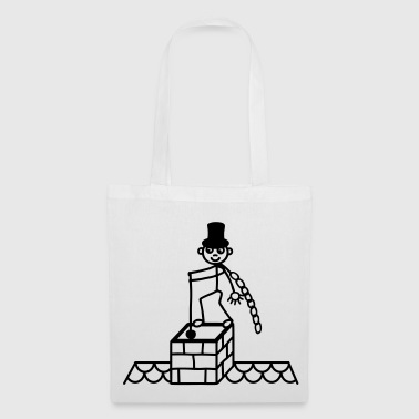 Chimney Sweeps fireplace - Tote Bag