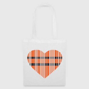 barcode love 2c - Tote Bag