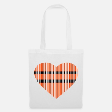 Love barcode love 2c - Tote Bag
