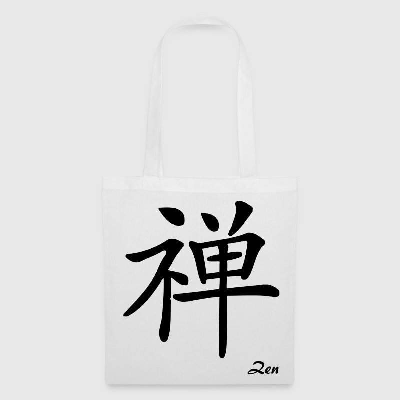 signe chinois zen - Tote Bag