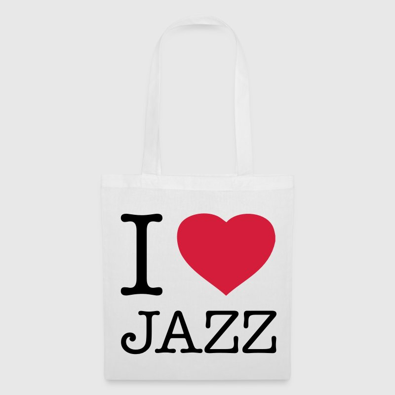 I LOVE JAZZ - Stoffbeutel
