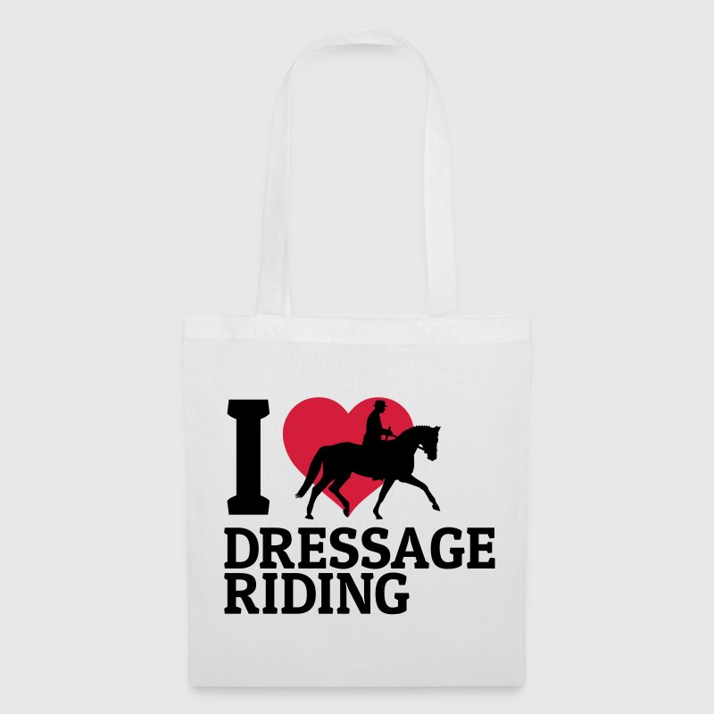 I love dressage riding - Tote Bag