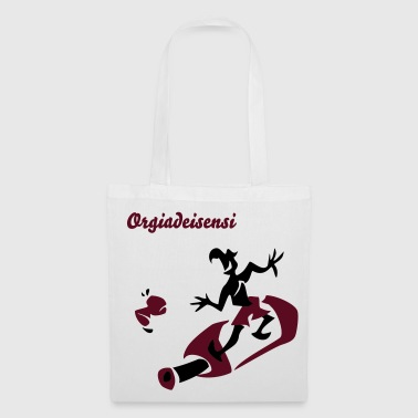 Wine Surfing - Funny Man Sport - Tote Bag