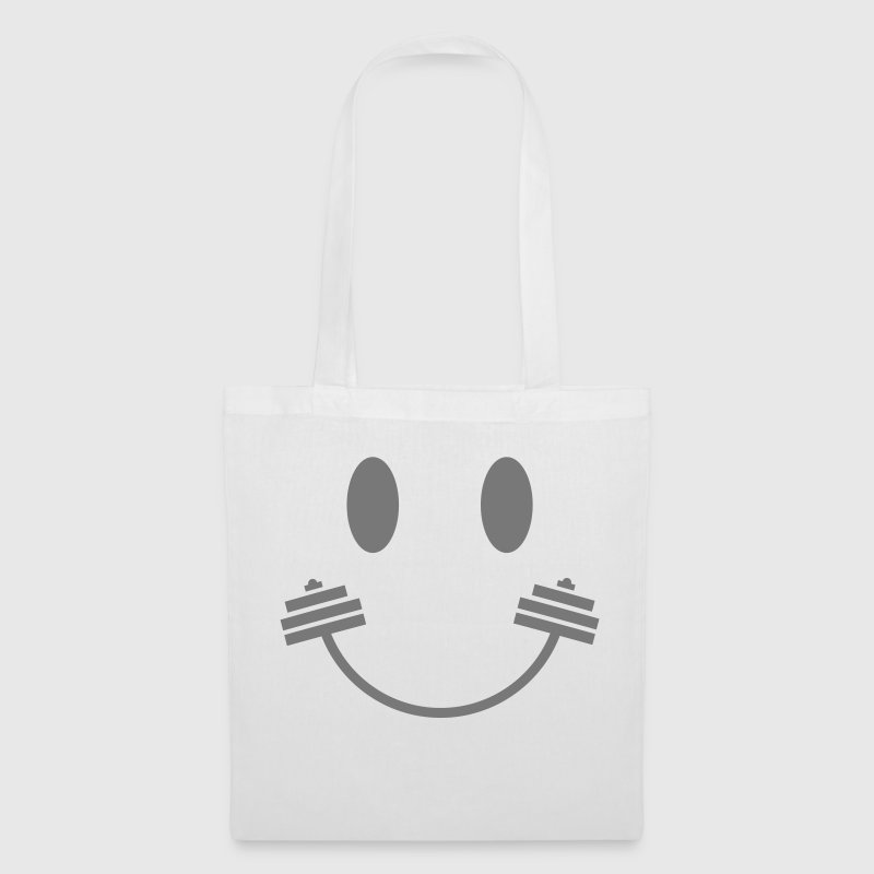 Happy Gym Smiley - Tote Bag