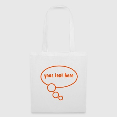 Speech Bubble - Tote Bag