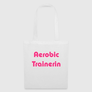 instructeur d'aérobie - Tote Bag