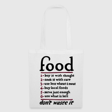Food - Tote Bag