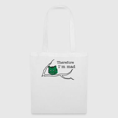 sourire de chat / Cheshire cat (b, 3c) - Tote Bag