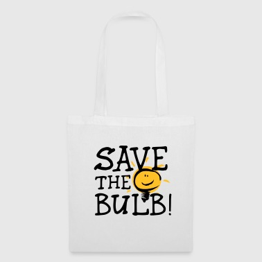 SAVE THE BULB! - Stoffbeutel