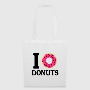 I love donuts - Tote Bag