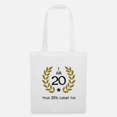 Birthday 25 - 20 plus tax - Tote Bag