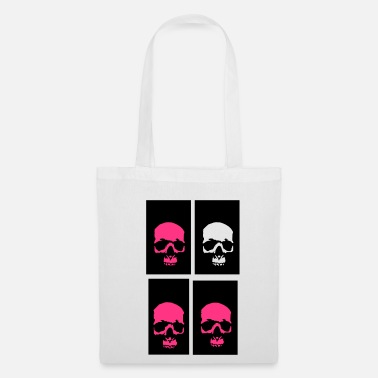 golden skull  - Tote Bag