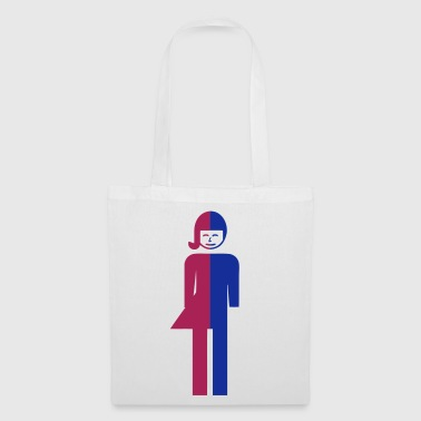 Ladyboy / Tomboy Toilet / Restroom Thai Sign - Tote Bag