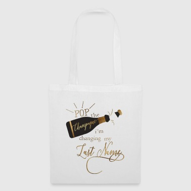 pop_the_champagne - Tote Bag