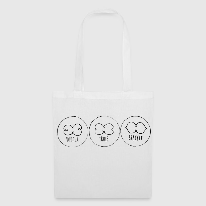 BoucleTroisBracket - Tote Bag