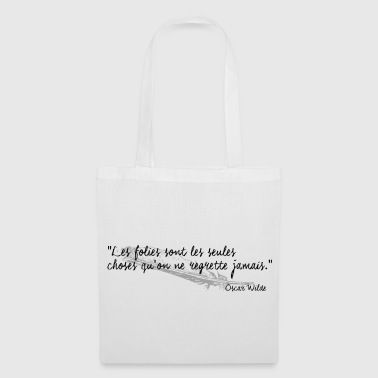 Oscar Wilde - Citation - Tote Bag