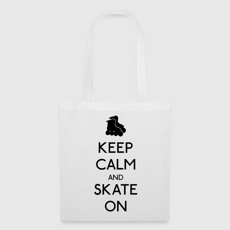 Keep Calm skate on holde roen skate - Mulepose