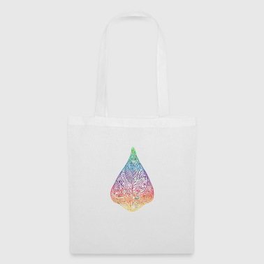 Leaf gradient watercolor colorful gift idea - Tote Bag