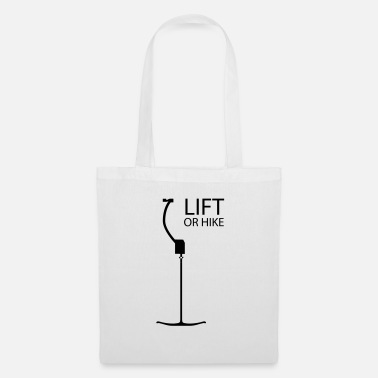 Retro ski lift - Tote Bag