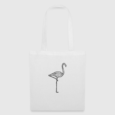 graphique Flamingo 2 - Tote Bag