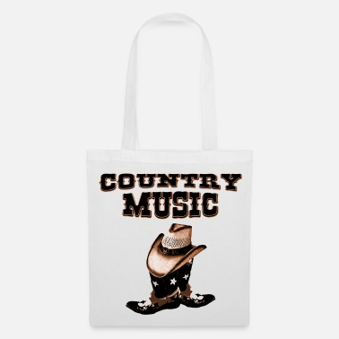 Country country music - Borsa di stoffa