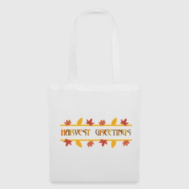 Indien HARVEST GREETINGS - récolte d'automne - Tote Bag