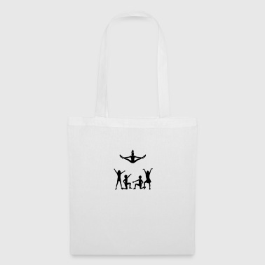 A group of cheerleaders - Tote Bag