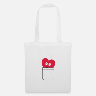 Day heart in pocket - Tote Bag